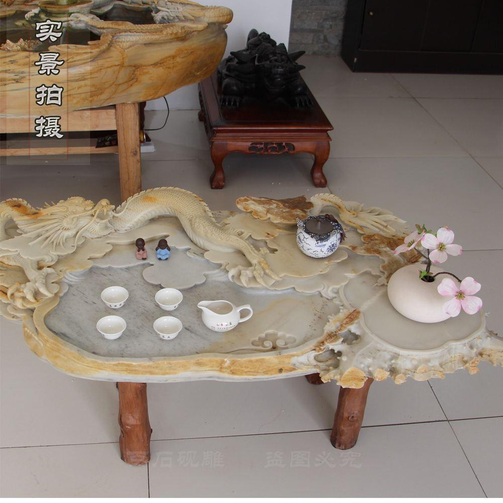 石雕茶台茶盘定制