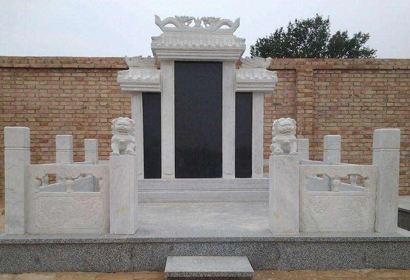 石雕墓碑定制