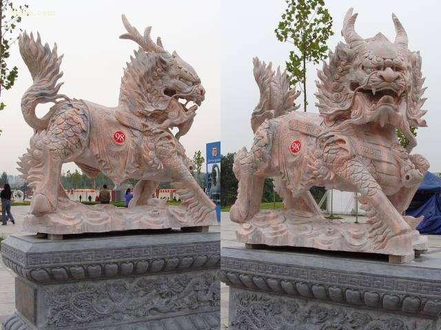 定制动物雕塑