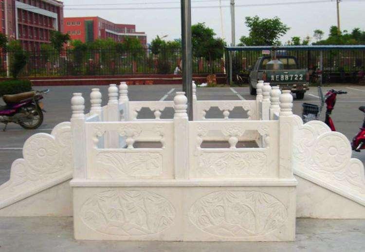 景区定制石雕栏杆