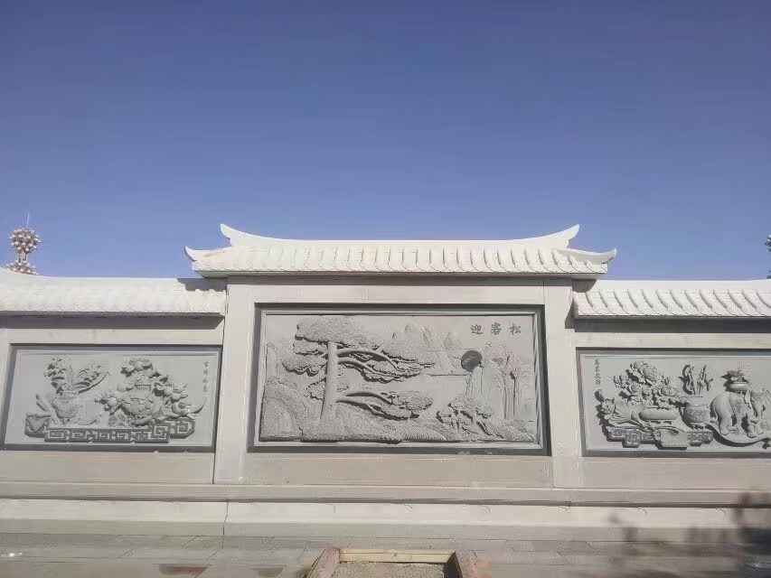 景区浮雕壁画