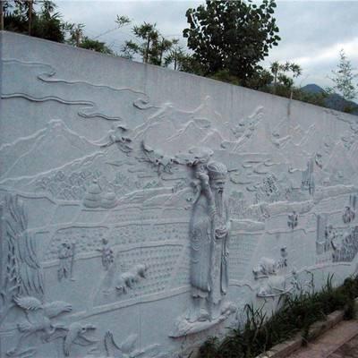 外墙人物浮雕