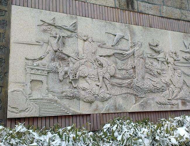 墙面浮雕画