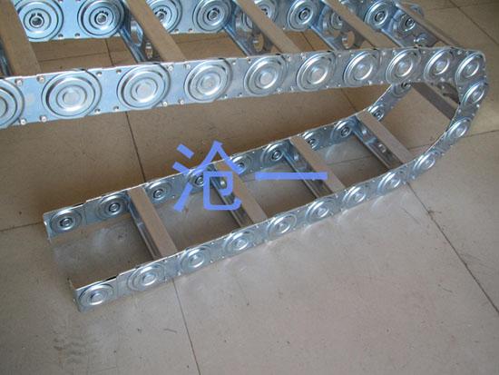 工字型打孔式钢拖链