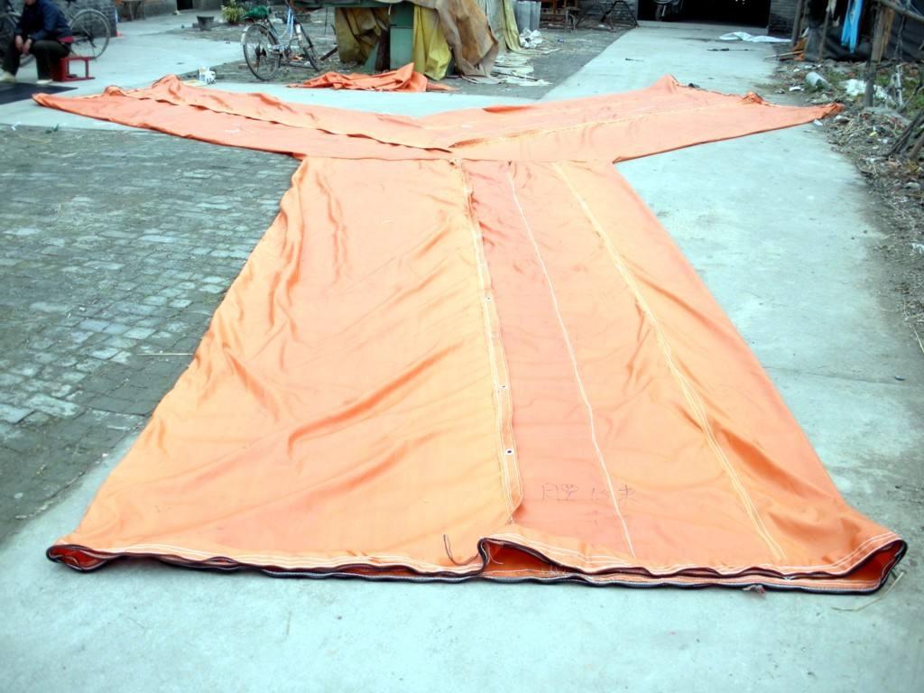 西安隧道风筒厂家:新型产品,塑编轻质风筒布介绍