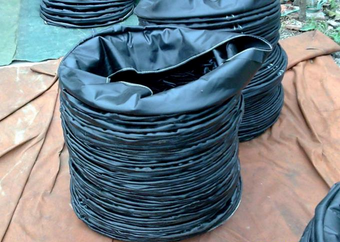 �L筒布的井下施工安全�知