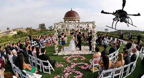 无人机航拍婚礼技巧分享