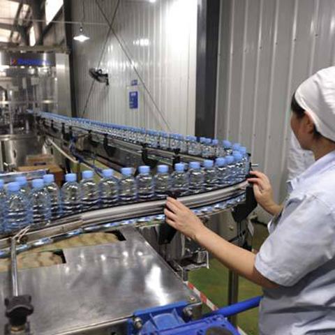 卓尔山矿泉水生产线