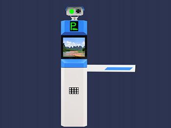 高清停车场识别系统盛世DZ-806