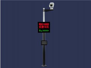 一型一体机停车场识别系统