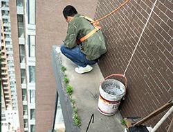 西安屋面防水堵漏因重压漏水如何补?