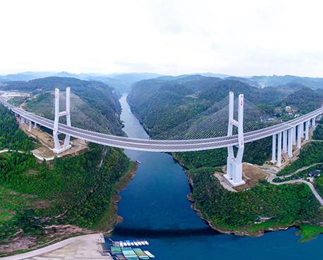 2018年遵贵高速扩容项目(楠木渡特大桥)