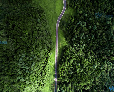 孟谷公路的VR全景