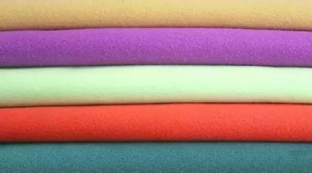 双面羊绒面料的预缩处理方法
