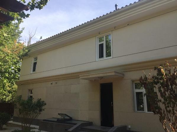德科一品做的旧别墅外墙翻新改造案例