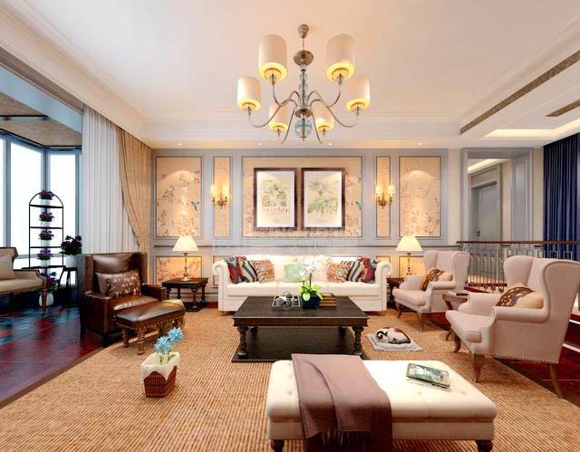 北京别墅装修客厅时的流程是什么