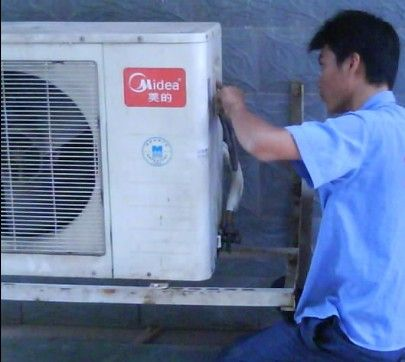 西安美的空调外机维修