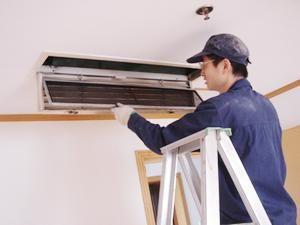 嵌入式空调安装