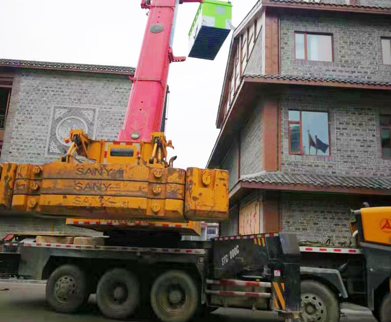 16吨吊车出租案例