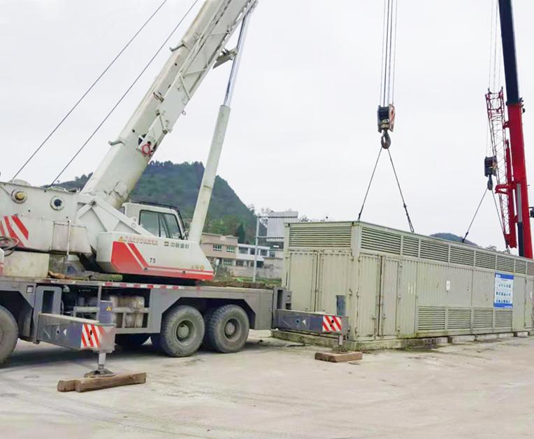 100吨吊车案例