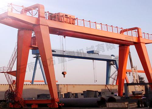 75噸箱型雙梁門式起重機