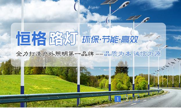 中山路灯厂家加入富海做网站优化效果很好