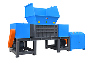 Four axis shredder