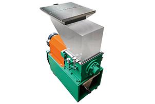 Slow machine edge crusher