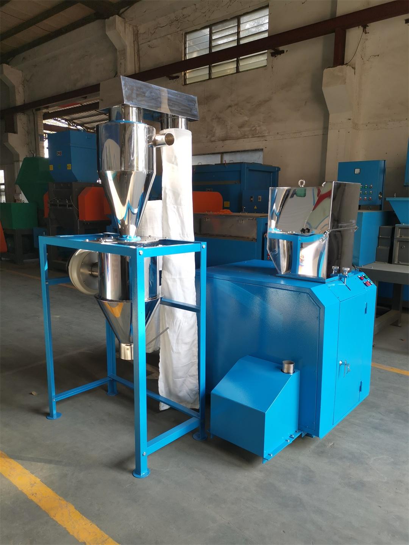 环保静音型粉碎机配回收系统