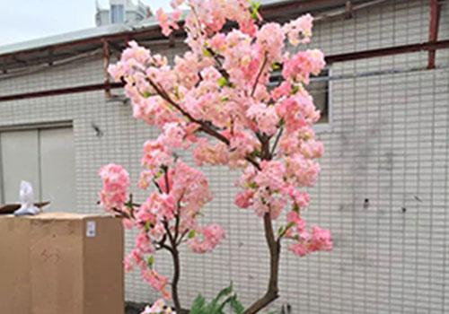 仿真樱花树盆景