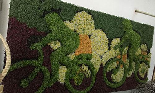 仿真植物绿雕和植物绿雕那个优势更大??