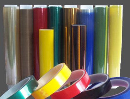 彩色聚酯胶带