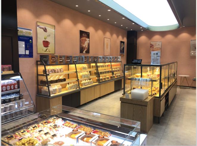 面包展柜的不同分类及功能讲解