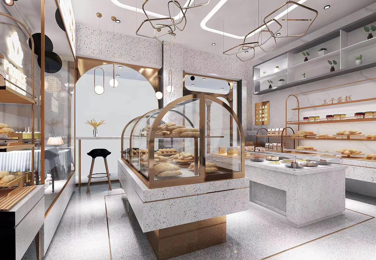 展柜厂家给客户安装蛋糕展柜需要做哪些工作