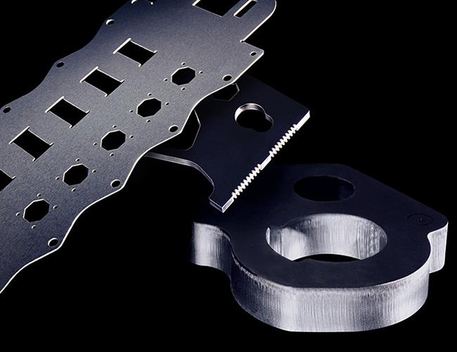 激光切割金属