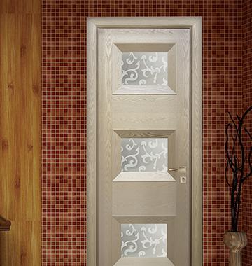 家居装修实木门颜色如何搭配?