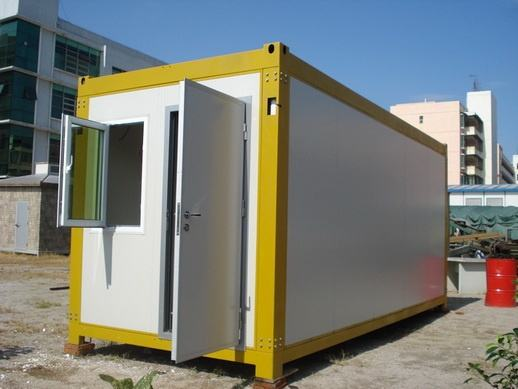 集装箱房的安装步骤和安装方法