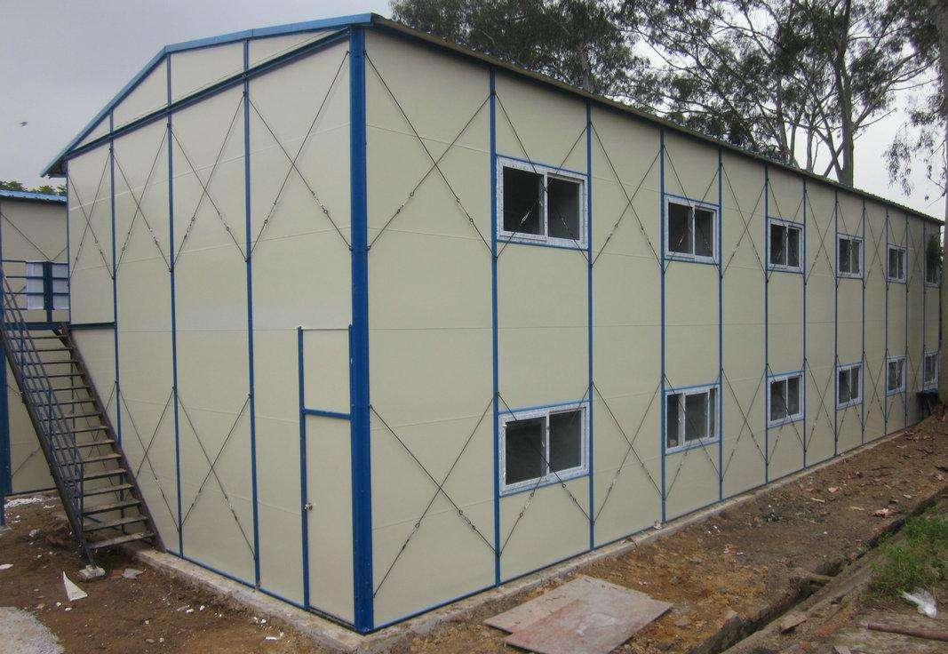 住人集装箱广泛用于工程临时用房