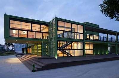 集装箱住宿房屋的设计