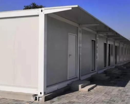 住人集装箱活动房项目安装