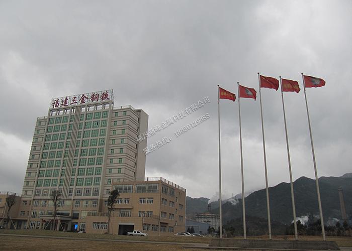 福州广场旗杆