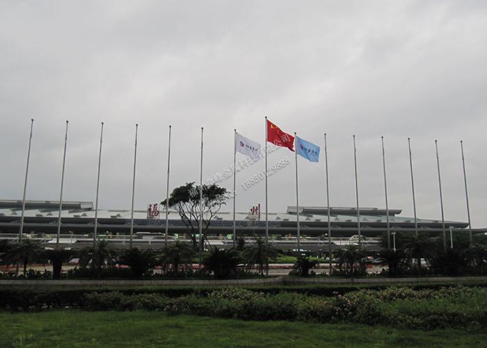 福州机场不锈钢旗杆