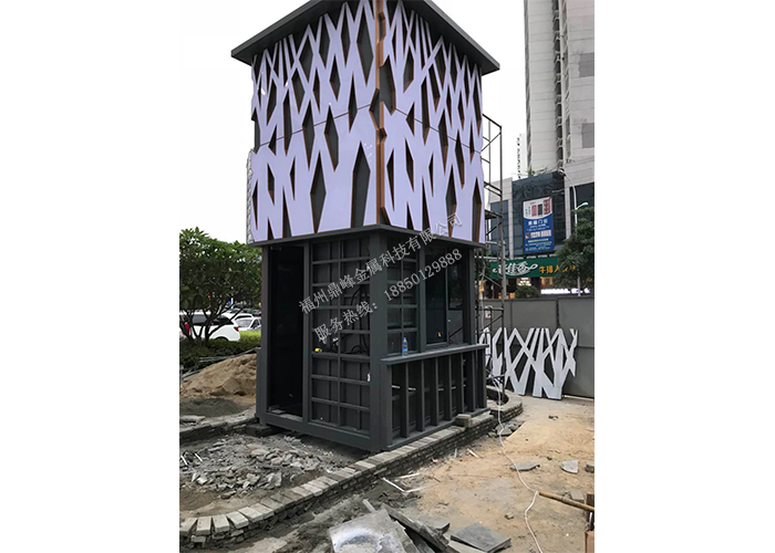 福州雕花板岗亭