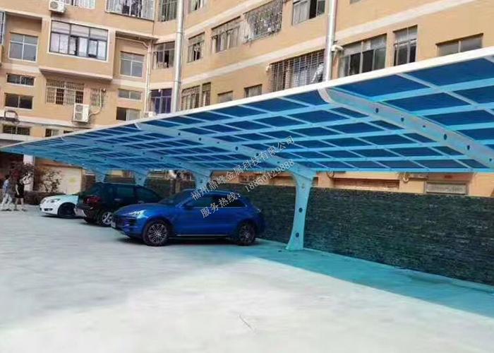 福州小区膜结构停车棚