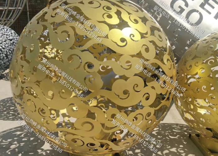 福州不锈钢圆球雕塑