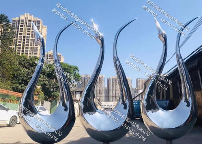 福州镜面不锈钢雕塑