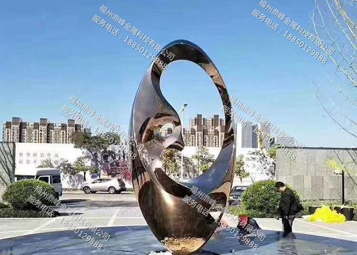 福州不锈钢城市雕塑