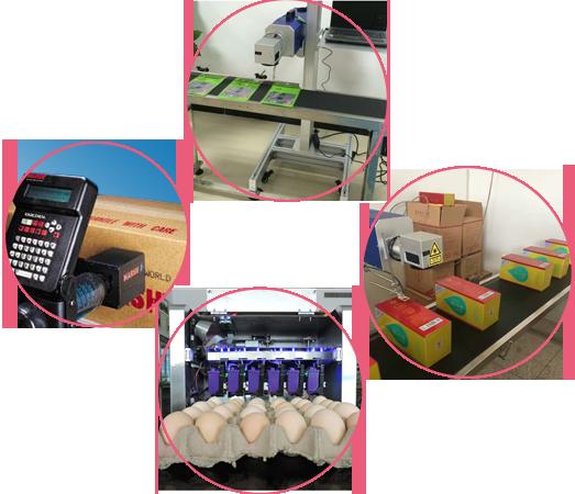 襄阳小字符喷码机在鸡蛋行业的应用