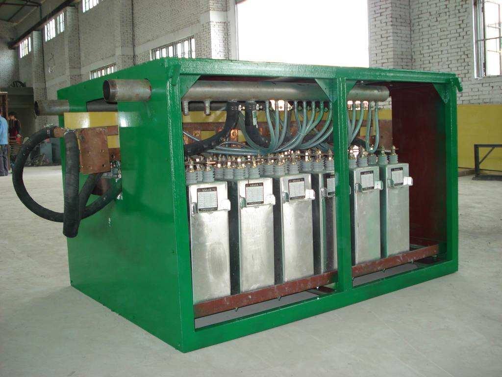 洮南市/延吉市中频电炉充分利用中频炉感应器的冷却水