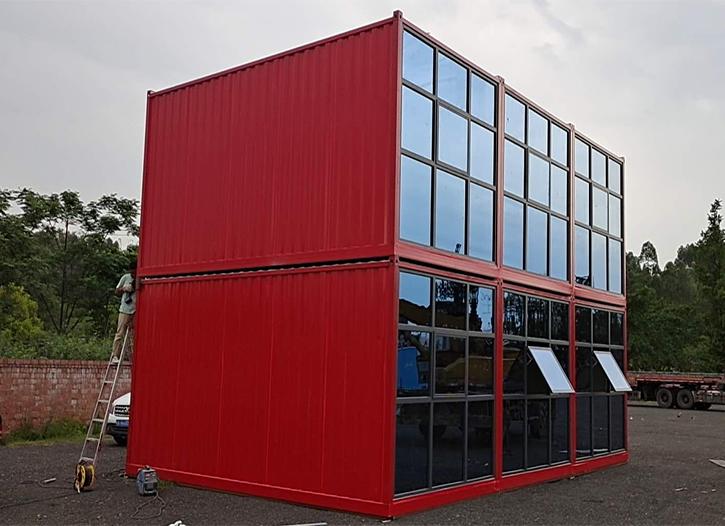 移动集装箱房